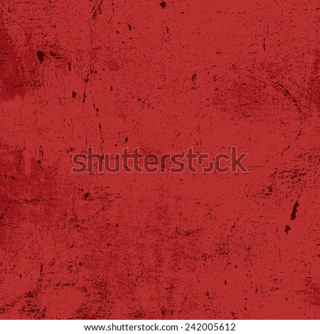 Red Grunge Texture for your design. EPS10 vector. - stock vector