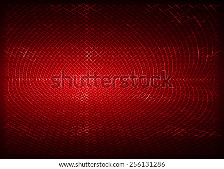 red metal mesh Pattern, Vector, illustration. texture. Wire. fence. Abstract Technology background for computer graphic website internet and business. - stock vector