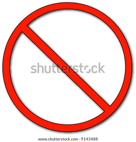 Not Allowed Sign Stock Images, Royalty-Free Images ...