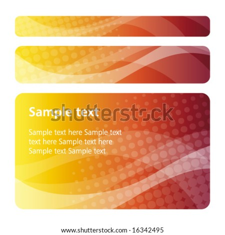 Red Orange abstract backgrounds - trendy business template with copy space Contemporary texture - stock vector