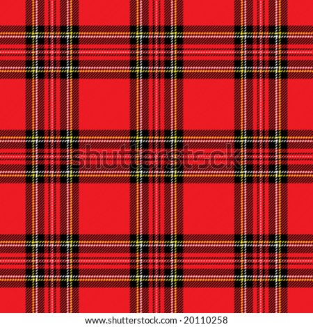 Red Plaid Vector