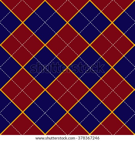 Red Royal Blue Diamond Background Vector Illustration
