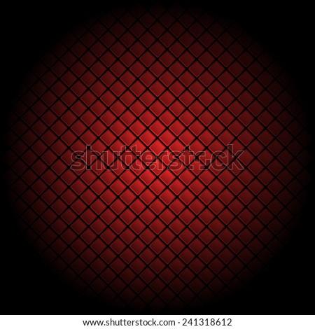 Red tile background pattern illustration - stock vector