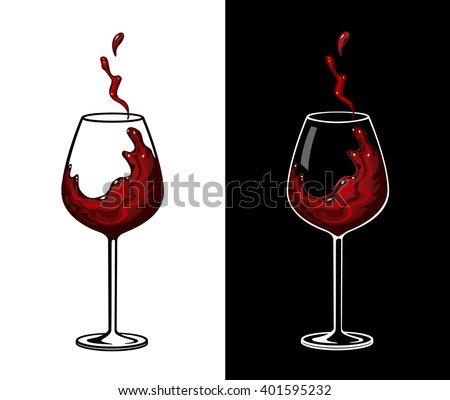 Wine Glass Vector Stock Images, Royalty-Free Images ...
