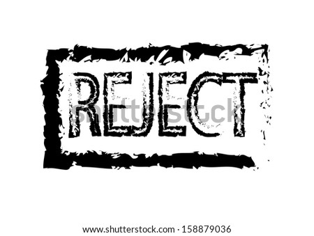 Reject Stamp. Vector - stock vector