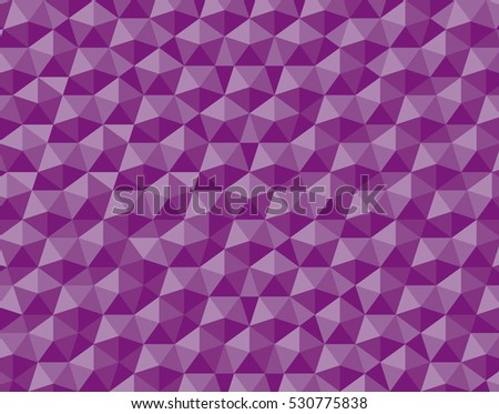 Relief Repeating Pentagon Shape Pattern Wallpaper Based On Penrose Mosaic
