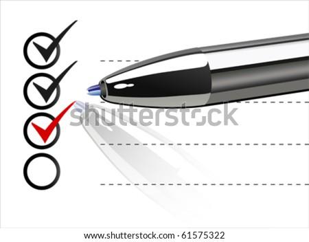 REMAINDER vector - stock vector