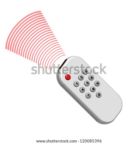 remote controller - stock vector