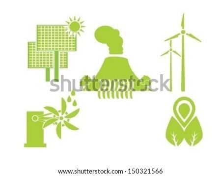 Renewable Energy - stock vector