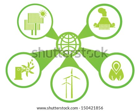 Renewable Energy - stock vector