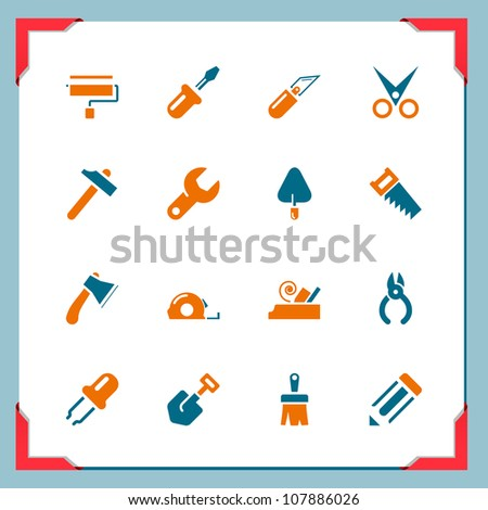 Renovation tools - stock vector