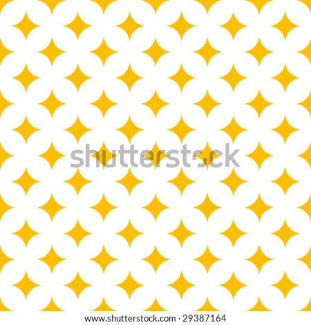 Repeating Diamond Background - stock vector