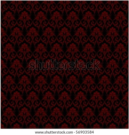 Repeating vector background pattern. The pattern is included as a seamless swatch