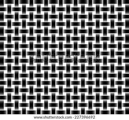 repeating wicker style background - vector format - stock vector