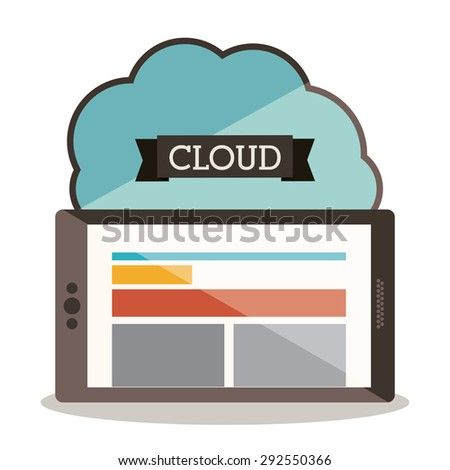 Responsive web digital design, vector illustration eps 10 - stock vector