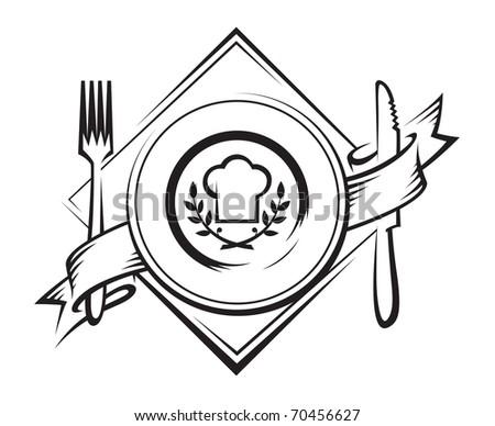 restaurant icon - stock vector