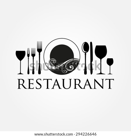 Restaurant logo - idea for the sign / logo / label element