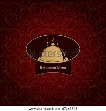 Restaurant menu concept design - stock vector