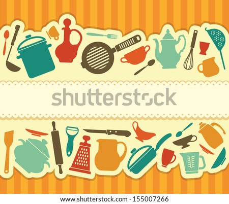 Restaurant menu - Illustration - stock vector