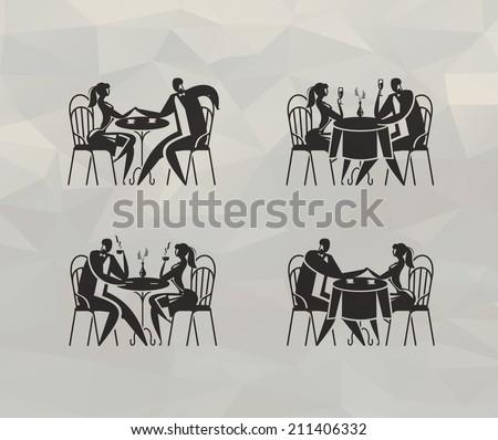 Restaurant. Vector format - stock vector