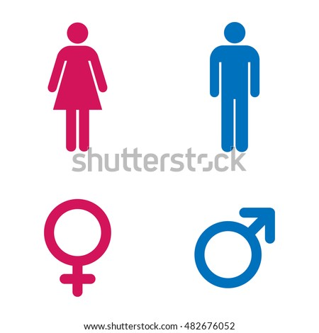 Bathroom Sign Male Vector man lady toilet sign male female stock vector 403667848 - shutterstock