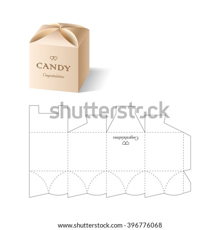 Retail box blueprint template stock vector royalty free 396776068 retail box with blueprint template malvernweather Gallery