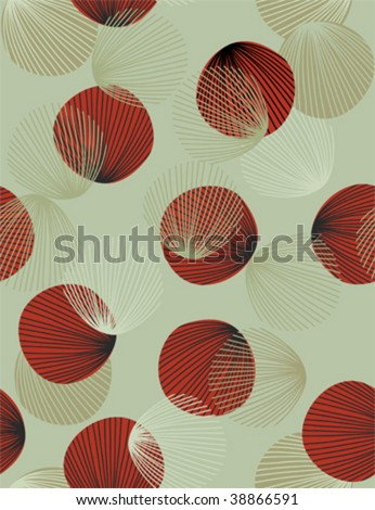 retro abstract seamless pattern - stock vector