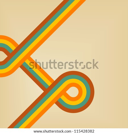 Retro Background - stock vector