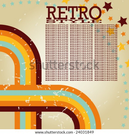 Retro background