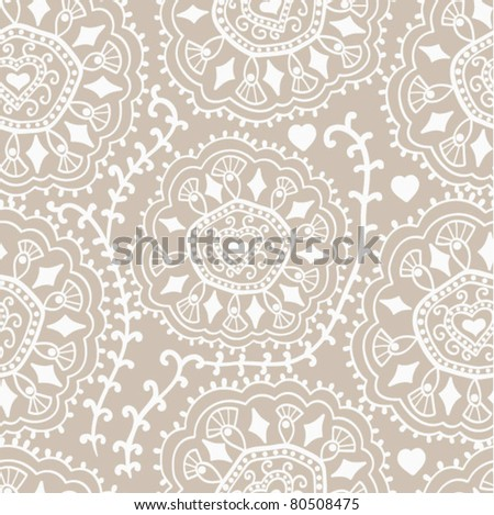 Retro background, lace seamless pattern, ornate endless texture