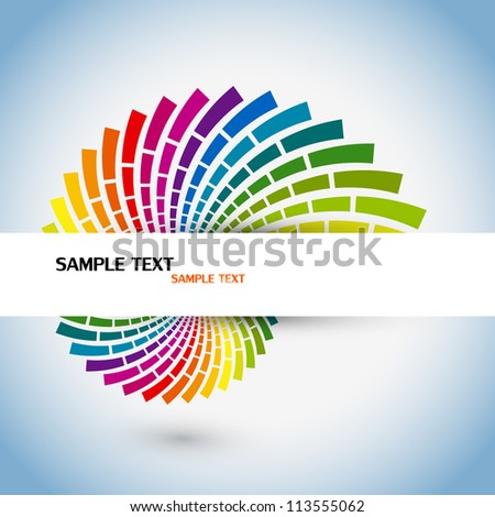 Retro background. Vector. - stock vector