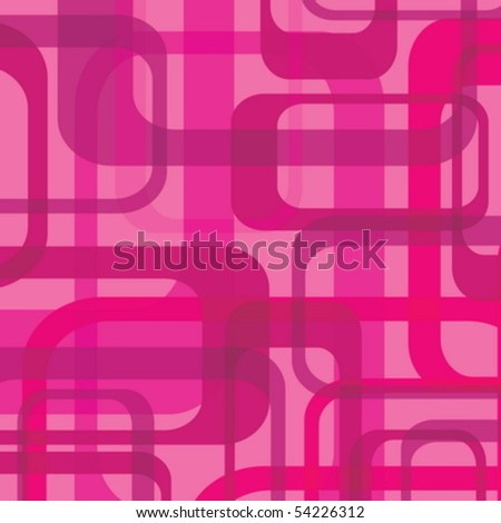 Retro background with a vintage pattern - stock vector