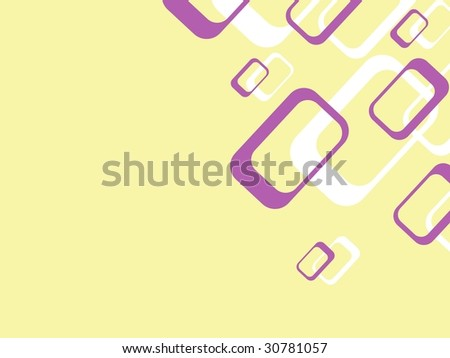 Retro background with rectangles (vector); a JPG version is also available - stock vector