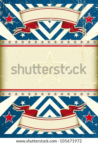Retro blue background. A vintage background with a copy space for your message - stock vector