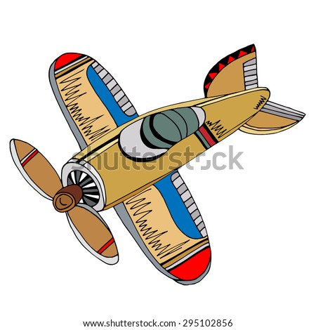 Cartoon Fighter Plane Stock Images, Royalty-Free Images & Vectors ...