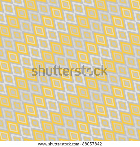 Retro color seamless geometric background - stock vector