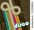 retro disco style - stock