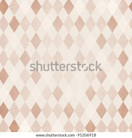 Retro Harlequin Background, Vector Background - stock vector