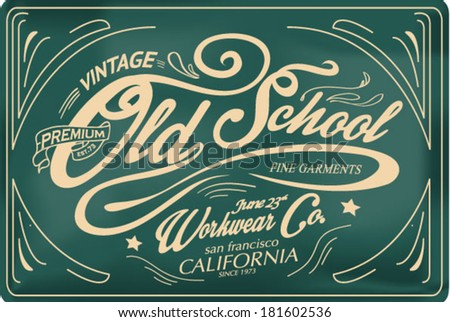 Retro labels and vintage badges 2 - stock vector