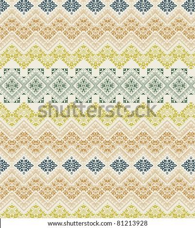 retro lines set - stock vector