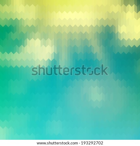 Retro pattern of geometric shapes. And also includes EPS 10 vector - stock vector
