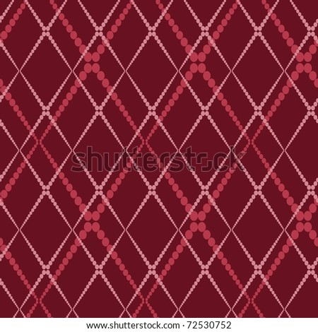 Retro  seamless background - stock vector