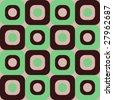 Retro Seamless Background Pattern - stock vector