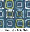 retro seamless pattern - stock photo