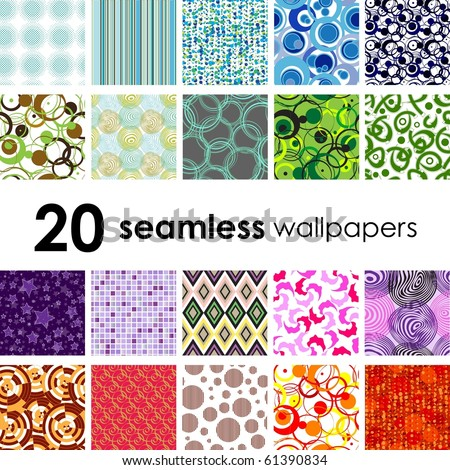 Retro seamless wallpaper. Golden collections. - stock vector