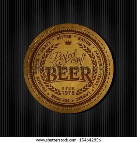 vintage beer label stock images royalty free images vectors shutterstock. Black Bedroom Furniture Sets. Home Design Ideas