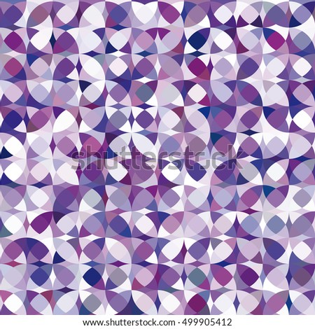 Retro vector violet circle pattern