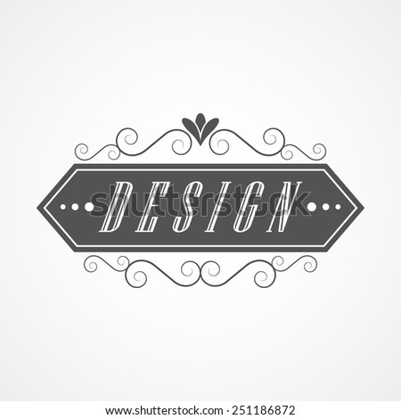 Vector Illustration Motel Vintage Old Sign Stock Vector ...