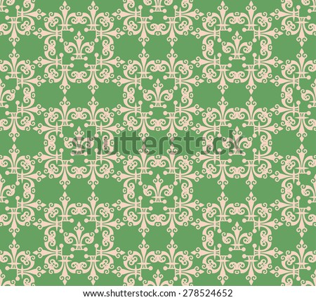 Retro Wallpaper Background Vector for Your Design