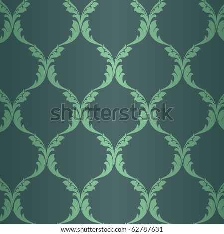 retro wallpaper seamless - stock vector